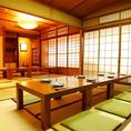 【2階貸切】最大25名様までの宴会が可能です。先斗町で和の宴会をお愉しみ下さい。