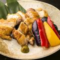 料理メニュー写真比内地鶏の豪華塩焼き