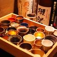 希少な焼酎や日本酒が勢ぞろい♪