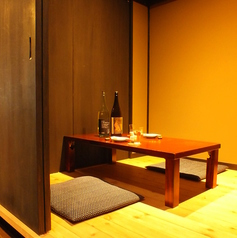 《観光・デート》京町屋風の落ち着きある2名様個室もご用意しております。