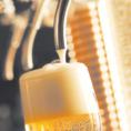 冷たい生ビール『プレミアムモルツ』をご提供。