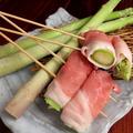 料理メニュー写真アスパラ豚巻き串