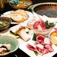 今帰仁アグー以外にもさまざまな沖縄県産食材、もとぶ牛などを使用し、やんばる自家農園でとれた新鮮野菜をご提供しています。