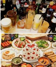 アジアン料理 サハラのコース写真