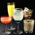 ノンアルコールでも安心!バーテンダーが1杯1杯おつくりしてまいります。