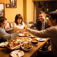 【宴会予約受付中!!パーティプランは3500円より♪】
