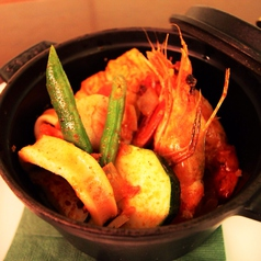 魚介と野菜の煮込み ~ンドゥイヤ風味~