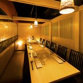 【10名様団体席完備】10名様以上のご宴会・飲み会にもゆったりお過ごし頂けるプライベート席をご用意しております!