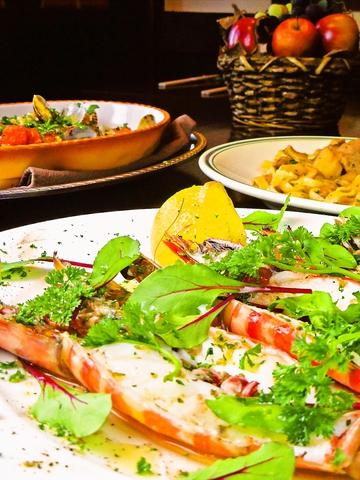 食材にこだわったイタリアン。モダンな和風のお店でゆっくり食事を楽しもう!