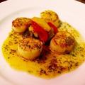 料理メニュー写真帆立貝のポワレ プロヴァンス風
