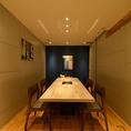 完全個室完備!6名様から12名様までご着席にてご利用が可能です。気軽なお食事会などのご利用に最適です。