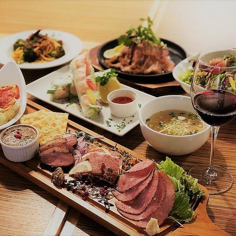 芝浦直送の和牛、こだわりの豚肉、鶏肉、合鴨など。久喜駅近。美味しい肉料理のお店
