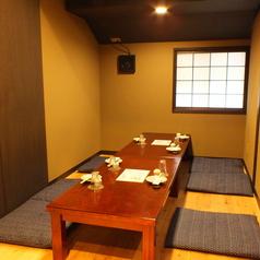 《少人数個室》3~6名までの少人数の個室もございます。