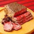 料理メニュー写真燻製ローストビーフ