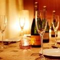 ★2次会・朝までOK★カクテル・ワイン・シャンパンなどなどドリンクも豊富☆