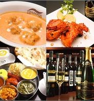 本格Spiceインド料理が自慢◆種類豊富なインドBeer.Wine