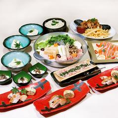 日本橋亭 魚菜 南越谷店のコース写真