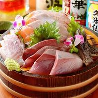 肉だけでなく鮮魚にだってこだわります!