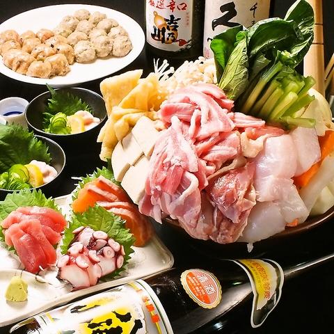 ちゃんこ鍋コースを2400円からご用意♪追加メニューも多数ご用意しております!