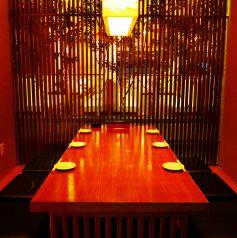 36)6名様用和個室。2~6名まで利用可能