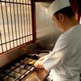 最高の鰻を味わっていただくため、日々修行を重ね、職人たちの腕が光ります。