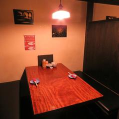 【1F】最大4名様までOKの完全個室です。カップル利用にも◎