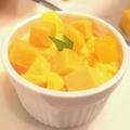 料理メニュー写真果肉たっぷりマンゴープリン