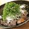 料理メニュー写真砂肝と葱の柚子胡椒ポン酢