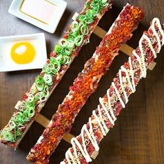 特製ユッケ寿司 肉寿司