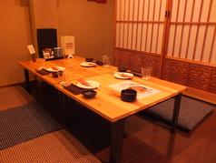 【2/7オープン】足元ゆったりお座敷席は会社帰りの方々で連日大賑わい!