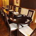 歓送迎会など各種宴会に便利なテーブル席★