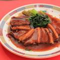 料理メニュー写真豚の角煮/鶏肉みそ炒め