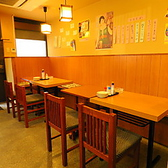 グループから貸切17名様までご利用できるテーブル席がございます。飲み放題付き宴会コースが3500円~。