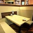 ゆったりくつろげるソファ席は、北海道はでっかい道 オホーツクの恵み 湧別町 市ヶ谷店です!!
