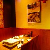 ゆったりテーブル席♪デートのお客様などにも人気の席です。