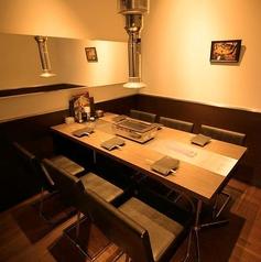 6名様個室。接待や仲間との飲み会に。