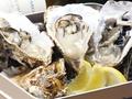 料理メニュー写真生牡蠣のがんがん焼き (3ヶ)