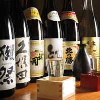 豊富な地酒・日本酒
