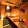 人気の個室♪個室は2名様~完備致しております。ご宴会、接待、デートなど様々な用途に合わせた個室を♪※画像は系列店イメージです