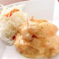 料理メニュー写真柚子風味のえびマヨネーズ