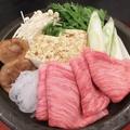 料理メニュー写真和牛すき焼き(ドリンク付き)