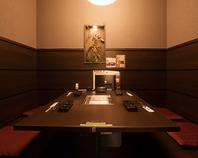 接待やデートに最適の個室