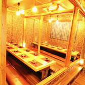 広々とした個室空間は理想のご宴会を実現してくれます♪いつもより上質な夜をお愉しみください。