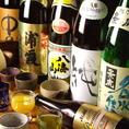 ~日本酒・本格焼酎を豊富にご用意~
