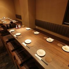 4名席×4で最大16名様までOK!離せば2名様からご利用いただけます♪ちょっとした宴会や飲み会に最適なお席。飲み放題付きの宴会コースは、自慢のメニュー盛りだくさんでオススメです!もちろん、名物牛タンも入っております♪