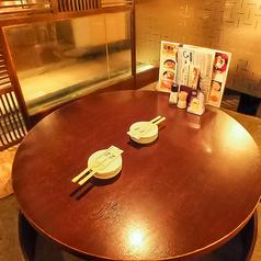 2~4名様で円卓を囲んで、寛げる個室も御座います♪
