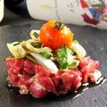 料理メニュー写真カルパッチョ(日替わり)