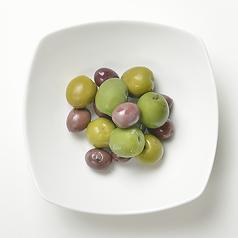 〔冷菜〕イタリア産オリーブ盛り合わせ