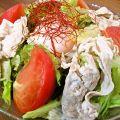 料理メニュー写真藤沢豚の冷しゃぶサラダ