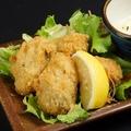 料理メニュー写真牡蠣フライ~自家製タルタルと共に~